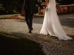 ślub w ogrodzie Pałacu Galiny